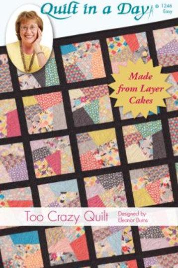 Too Crazy Quilt Eleanor Burns Patterns