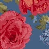 Red and Blue and Roses too