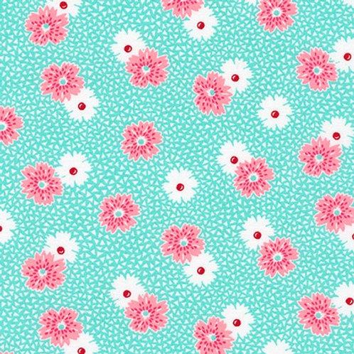 Windowsill Garden teal/pink