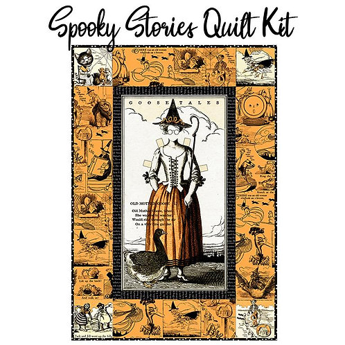 Goose Tails Spooky Stories Quilt  Kit