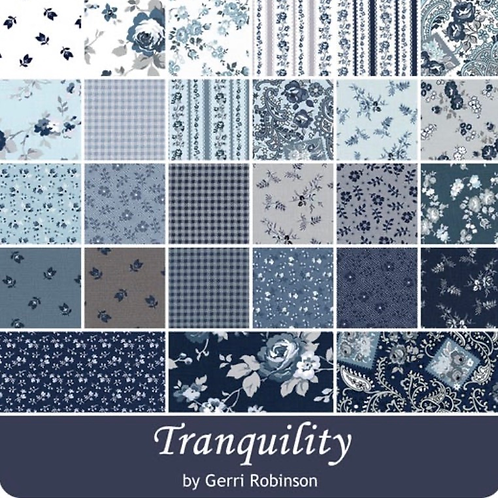 """Tranquility 10"""" squares"""