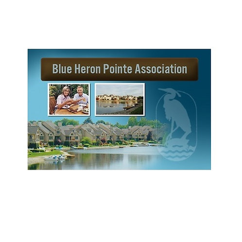 Blue Heron Pointe Ownership Card (FREE)