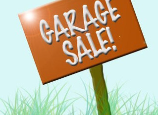 Garage Sale - June 6th