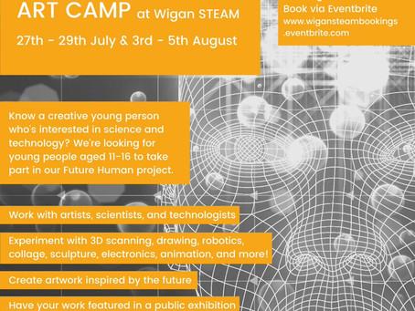 [WORKSHOP] Future Human Camp at Wigan STEAM