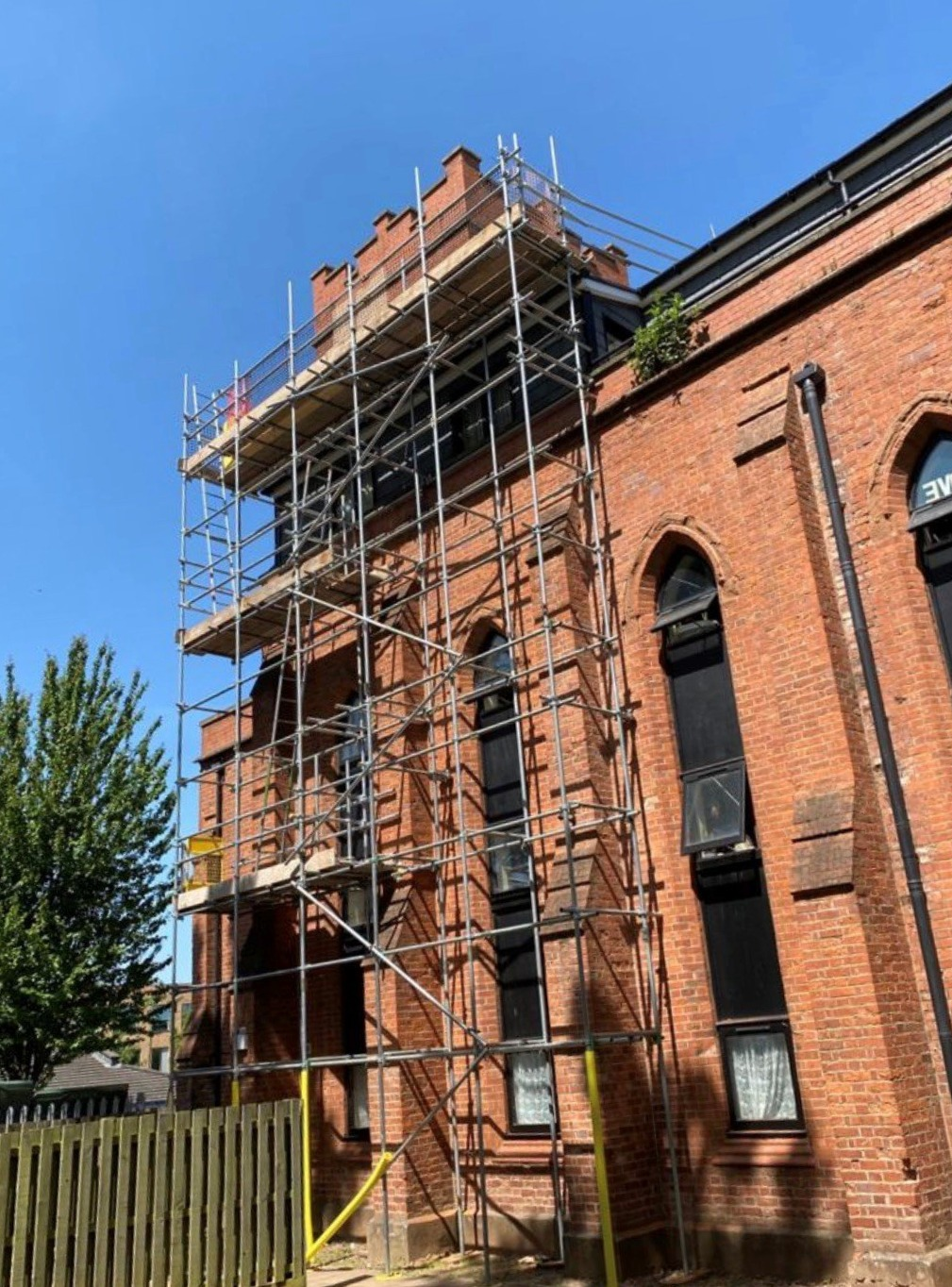 Church scaffold