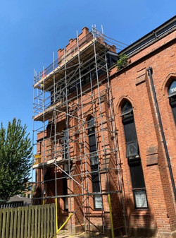 Church scaffold