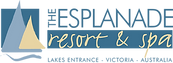 The Esplanade Resort & Spa, Lakes Entrance logo