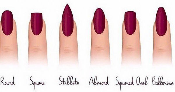 12-Different-Nail-Shapes-To-Try-for-Your