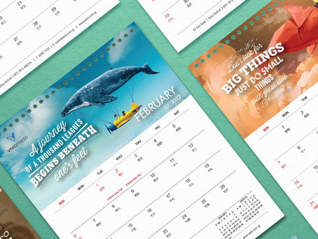 Tips on planning for your customised calendars
