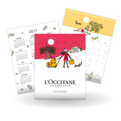 Loccitane Calendar 2016
