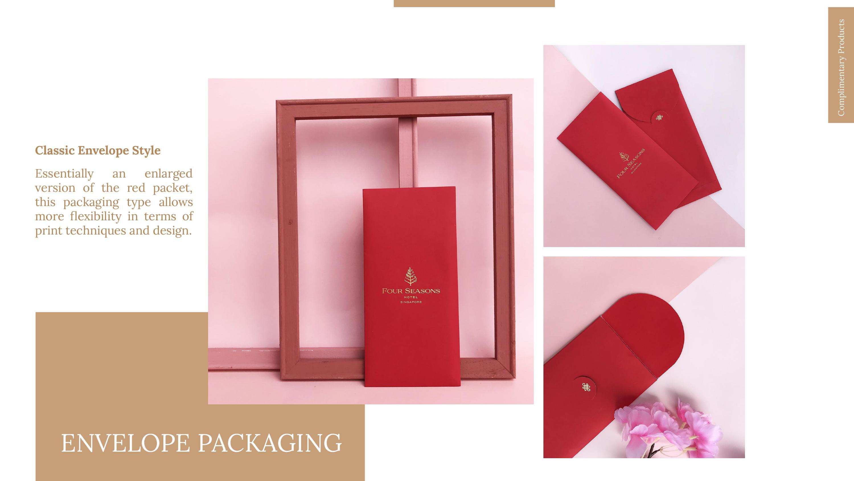 red packet envelop packaging