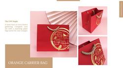 cny mandarin paper bag