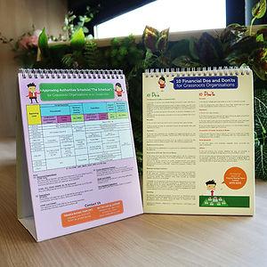 Weio Corporate | Calendar Printing | Singapore | Stand Printing