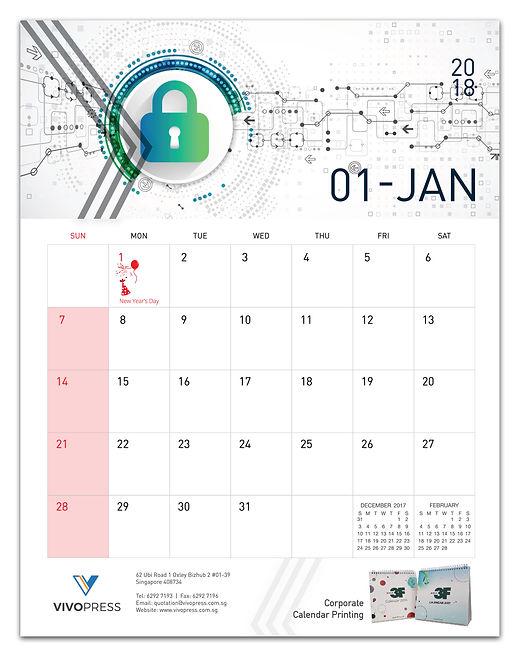 VIVO PRESS | Weio Corporate | Calendar Printing | Customize Every Page | Customize Your Own Calendar