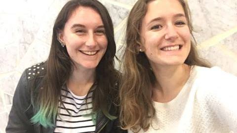 Juliane Letournel et Julie Collineau