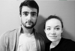 Maxime Bobo et Julia Le Tan