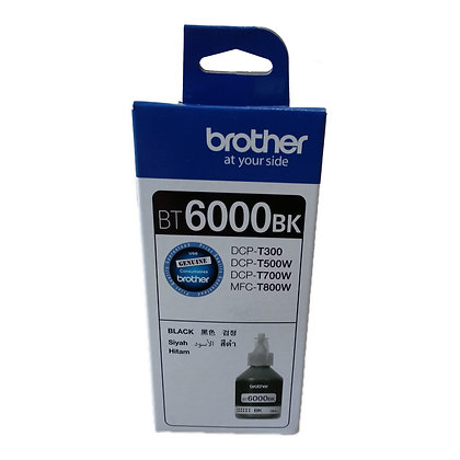 BROTHER INK CARTRIDGE BT6000BK