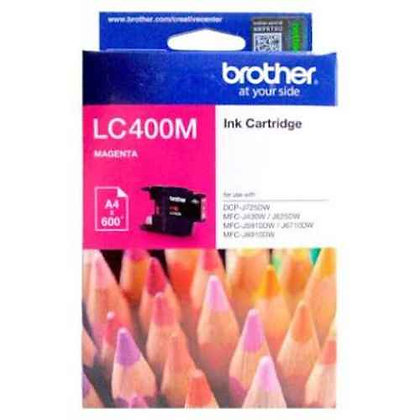 BROTHER INK CARTRIDGE LC400M