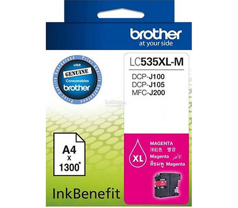 BROTHER INK CARTRIDGE LC535XLM