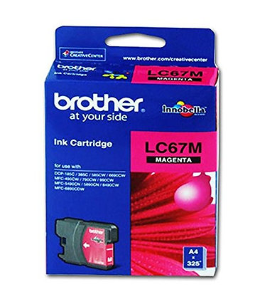 BROTHER INK CARTRIDGE LC67M