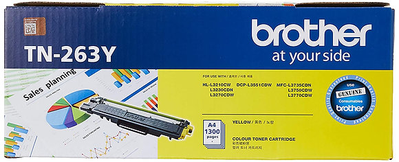 BROTHER TONER TN-263Y