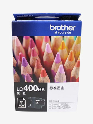 BROTHER INK CARTRIDGE LC400BK
