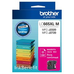 BROTHER INK CARTRIDGE LC665XLM