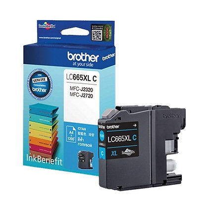 BROTHER INK CARTRIDGE LC665XLC
