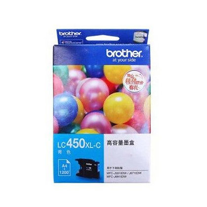 BROTHER INK CARTRIDGE LC450XLC