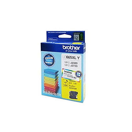 BROTHER INK CARTRIDGE LC665XLY