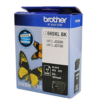 BROTHER INK CARTRIDGE LC669XLBK