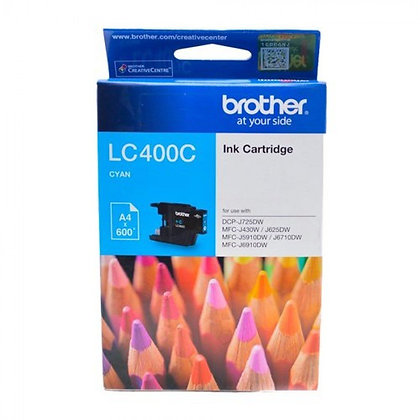 BROTHER INK CARTRIDGE LC400C