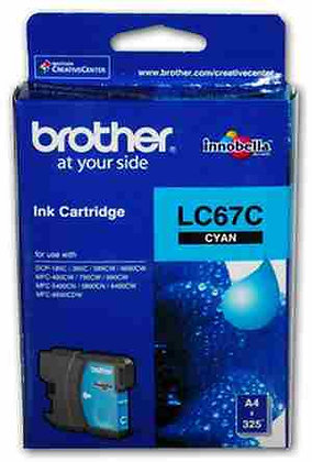 BROTHER INK CARTRIDGE LC67C