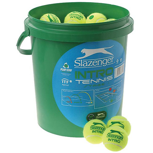 Slazenger Mini Green tennis balls 5doz