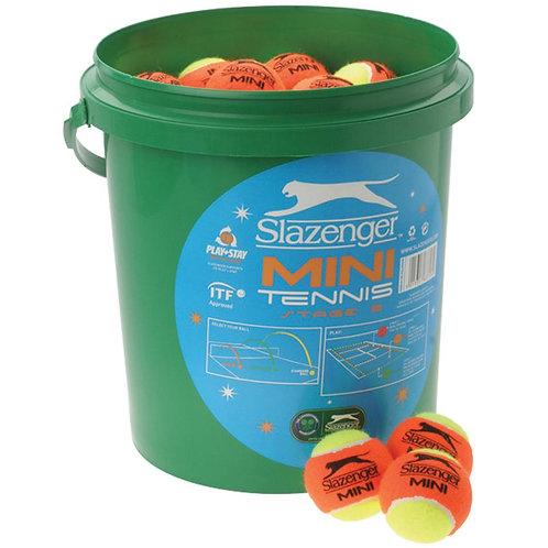 Slazenger Mini Orange tennis balls 5doz