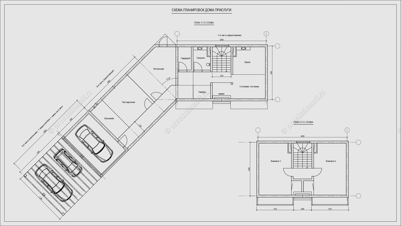 Дом прислуги (планировки)