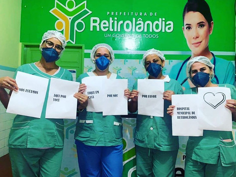 Instituto Imodernizar apoia campanha#FiquemEmCasa