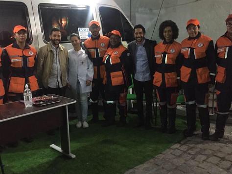Unidade Móvel para pré-atendimentos de urgência e emergência em São Pedro Retirolândia - BA