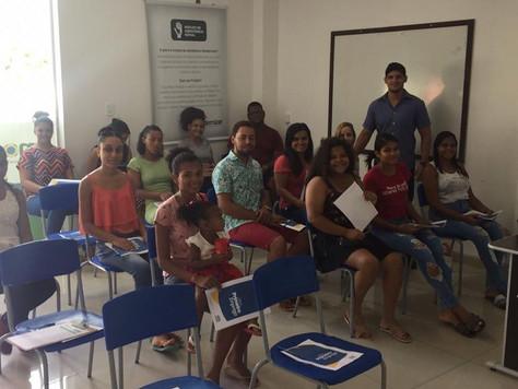 Instituto Imodernizar realiza curso de capacitação profissional Meu Primeiro Emprego.