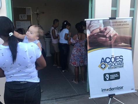 Instituto Imodernizar realiza ação social Mutirão de Ultrassonografia.