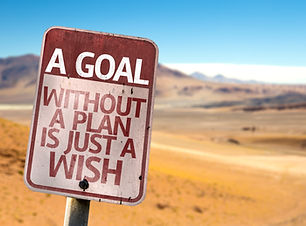 A Goal Without a Plan Is Just A Wish sig