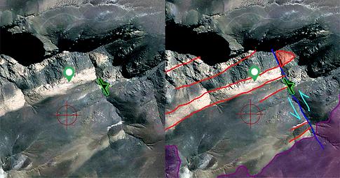 mapeo geológico offline
