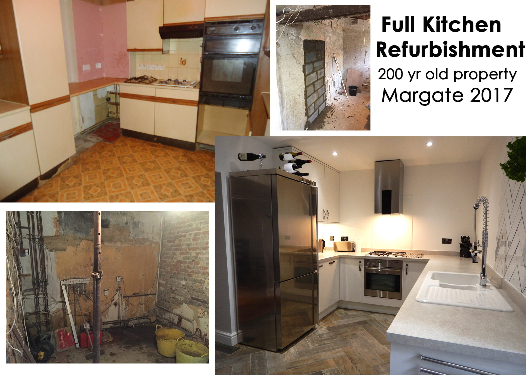 KITCHEN REFURB MONTAGE