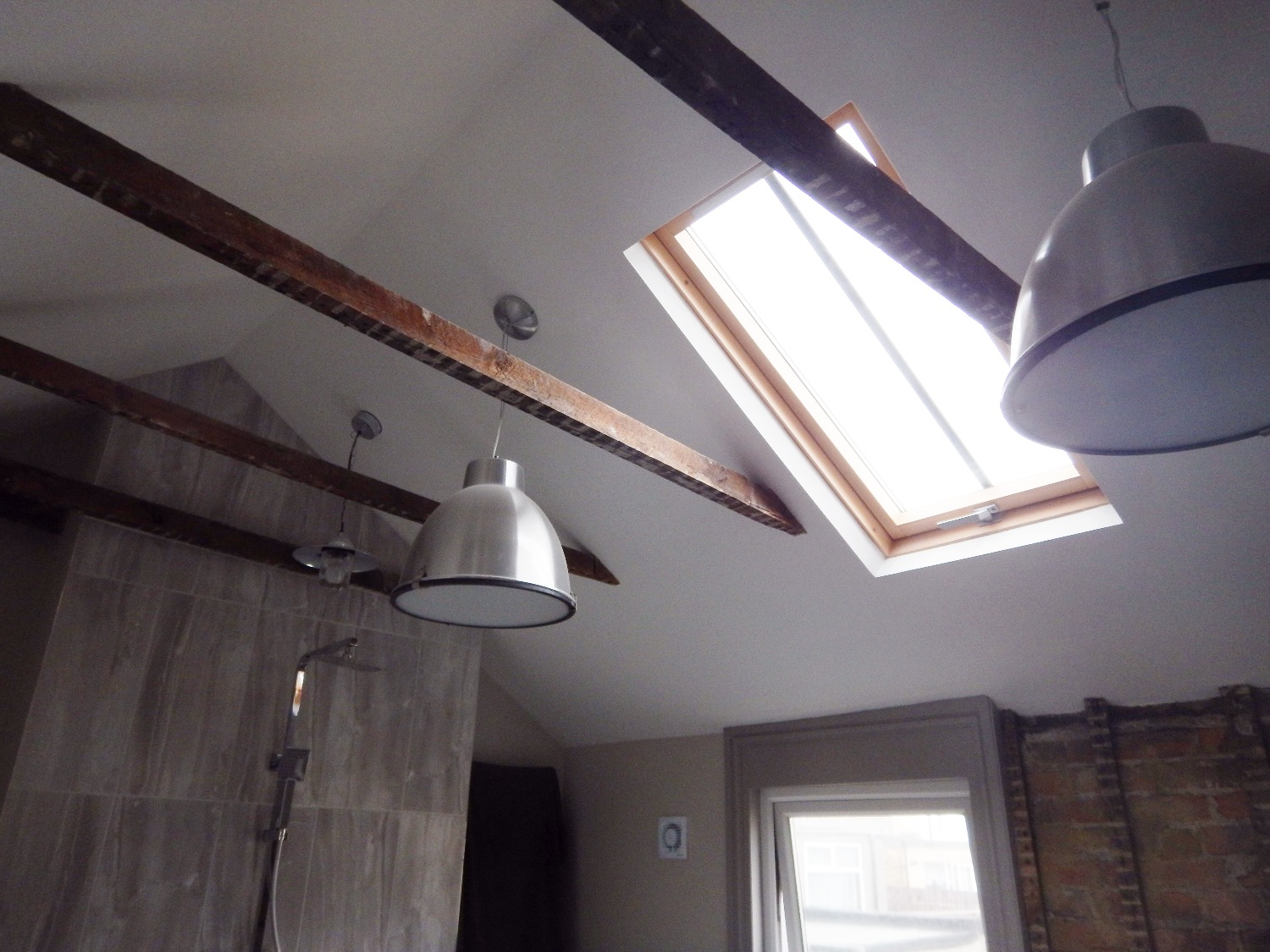 Velux Window and Removal of ceiling