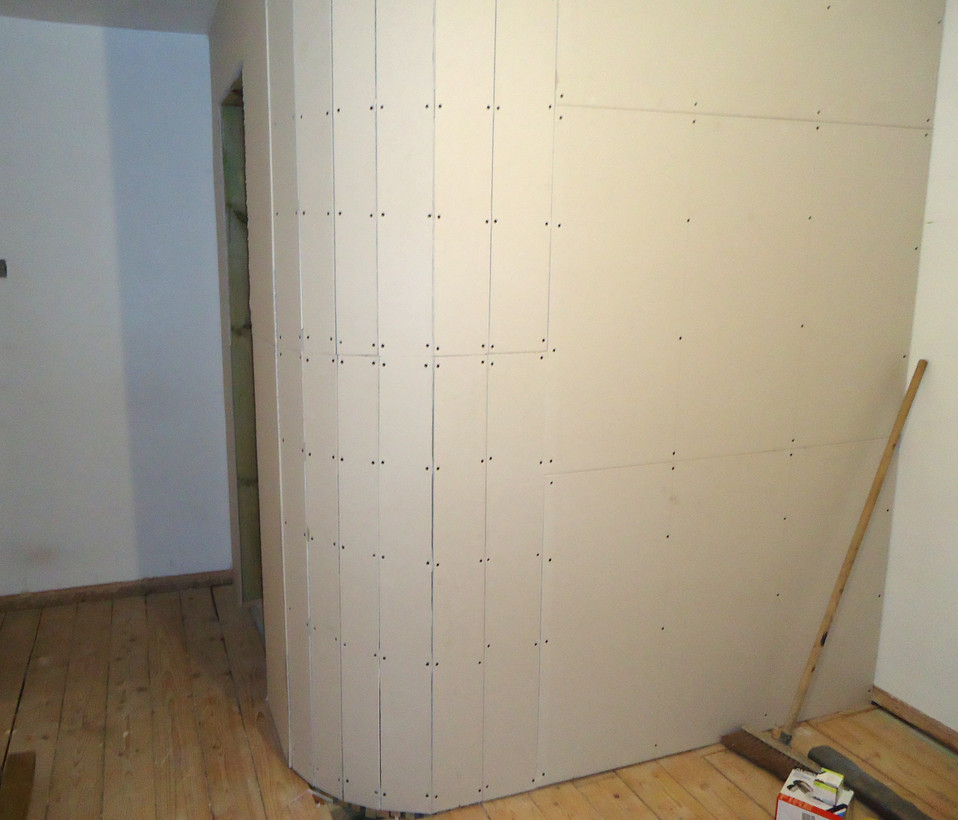 Curved Wall Plasterboard