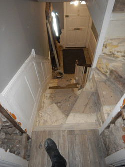 Panelling and stair refurb