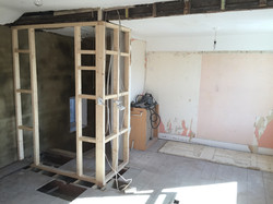 New Stud Wall with Doorway