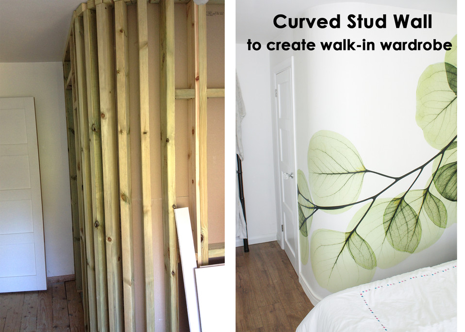 Curved Stud Wall