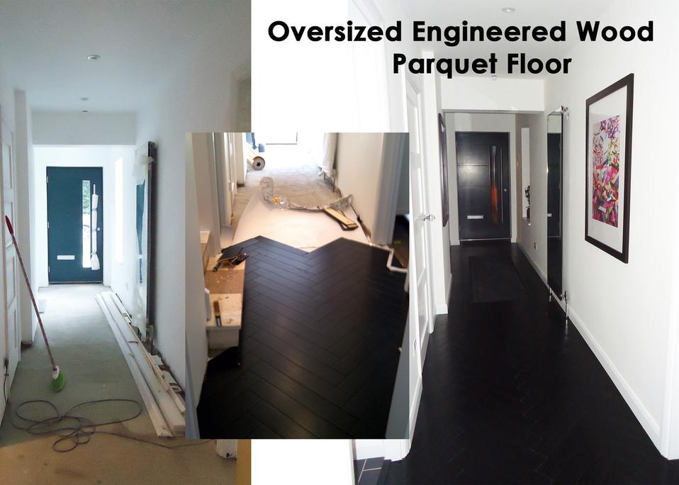 Oversized Parquet Clip Floor