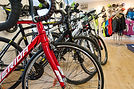 Over 50 bikes in stock and hundreds to choose from at Kirkcowan Cycles